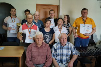 Призеры областного чемпионата