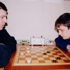 Победитель турнира Александр Мартынов (справа) и Эдуард Апатенко (слева)