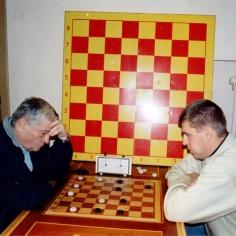 Эдуард Апатенко (справа) и Константин Филиппов (слева)