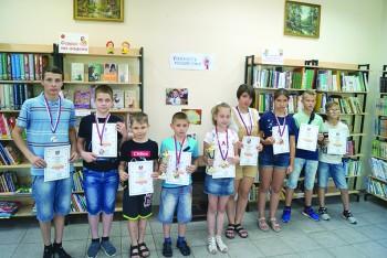 Призеры соревнований среди детей