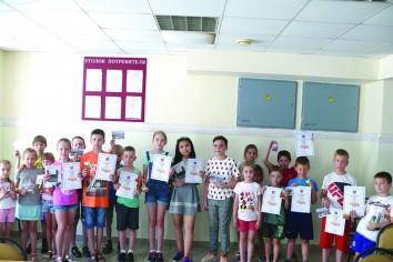 Участники соревнований «Летние шашки»