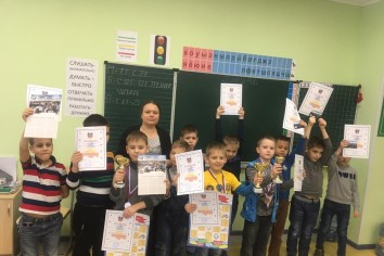 Участники соревнований среди мальчиков