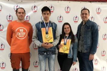 Ростовская команда на турнире в Краснодаре