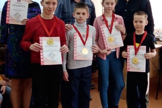 Победители областного турнира «Чудо-шашки»